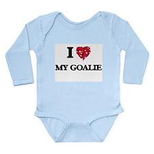 I Love My Goalie Body Suit