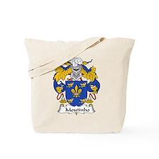 Moutinho Family Crest  Tote Bag