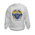 Moutinho Family Crest  Kids Sweatshirt