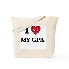 I Love My Gpa Tote Bag