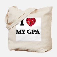 I Love My Gpa Tote Bag