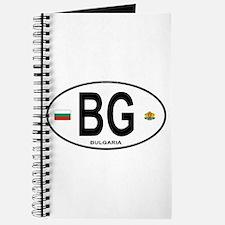 Bulgaria Euro Oval Journal
