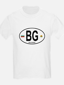 Bulgaria Euro Oval T-Shirt