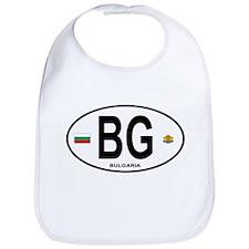 Bulgaria Euro Oval Bib