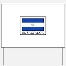 El Salvador Yard Sign