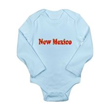 New Mexico Red Cool Pattern Jerry's Fave Body Suit