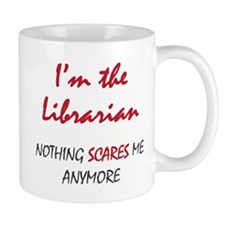 Nothing Scares Librarian Mug
