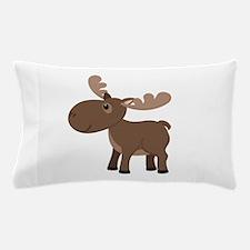 Cartoon Moose Pillow Case