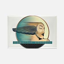 Domestic Goddess 2 Blue Magnets