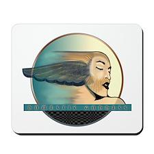 Domestic Goddess 2 Blue Mousepad