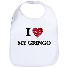 I Love My Gringo Bib
