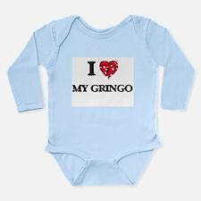 I Love My Gringo Body Suit