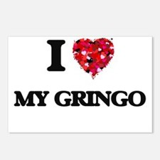 I Love My Gringo Postcards (Package of 8)