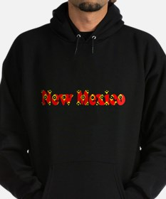 New Mexico Red Cool Pattern Jerry's Hoodie (dark)