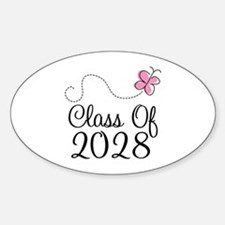 Class of 2028 Butterfly Decal
