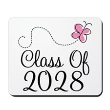 Class of 2028 Butterfly Mousepad
