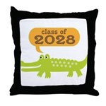 Funny Class of 2028 Throw Pillow
