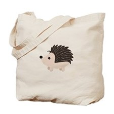 Cartoon Porcupine Tote Bag