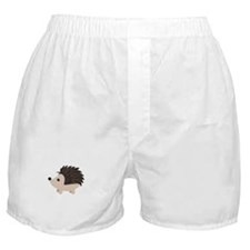 Cartoon Porcupine Boxer Shorts