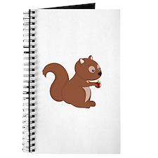 Cartoon Squirrel Journal