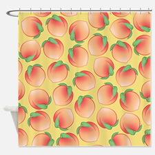 Pattern Peach Shower Curtains Pattern Peach Fabric Shower