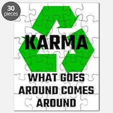 Karma What Goes Around Comes Around Puzzle
