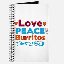 Love Peace Burritos Journal
