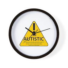 Autism Triad Wall Clock