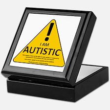 Autism Triad Keepsake Box