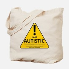 Autism Triad Tote Bag