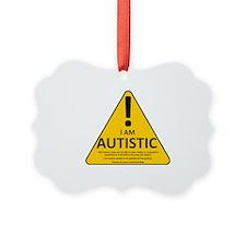 Autism Triad Ornament