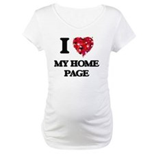I Love My Home Page Shirt