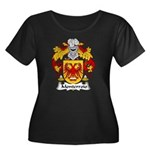 Monterroio Family Crest Women's Plus Size Scoop Ne