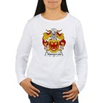 Monterroio Family Crest Women's Long Sleeve T-Shir