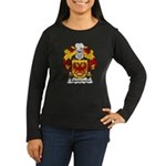 Monterroio Family Crest Women's Long Sleeve Dark T