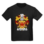 Monterroio Family Crest Kids Dark T-Shirt