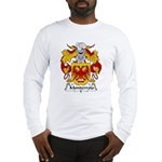 Monterroio Family Crest Long Sleeve T-Shirt