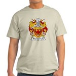 Monterroio Family Crest Light T-Shirt