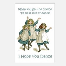 I HOPE YOU DANCE Postcards (Package of 8)