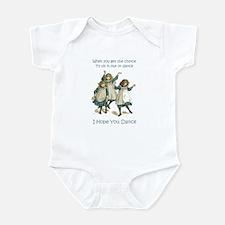 I HOPE YOU DANCE Infant Bodysuit