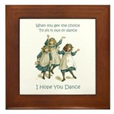 I hope you dance Framed Tiles