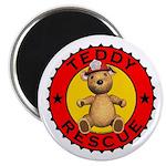 Teddy Bear Rescue Magnet