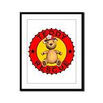 Teddy Bear Rescue Framed Panel Print