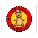 Teddy Bear Rescue Poster - Small