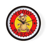 Teddy Bear Rescue Wall Clock