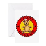 Teddy Bear Rescue Greeting Cards (Pk of 20)