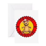 Teddy Bear Rescue Greeting Card