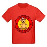 Teddy Bear Rescue Kids T-Shirt Dark Colored