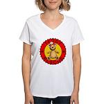 Teddy Bear Rescue Women's V-Neck T-Shirt
