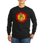 Teddy Bear Rescue Long Sleeve Dark T-Shirt